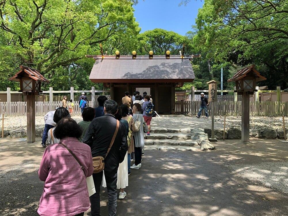 熱田神宮の別宮八剣宮