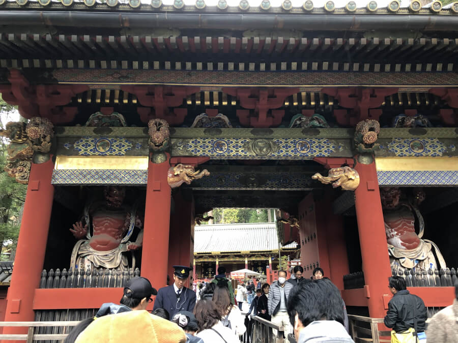 日光東照宮の表門