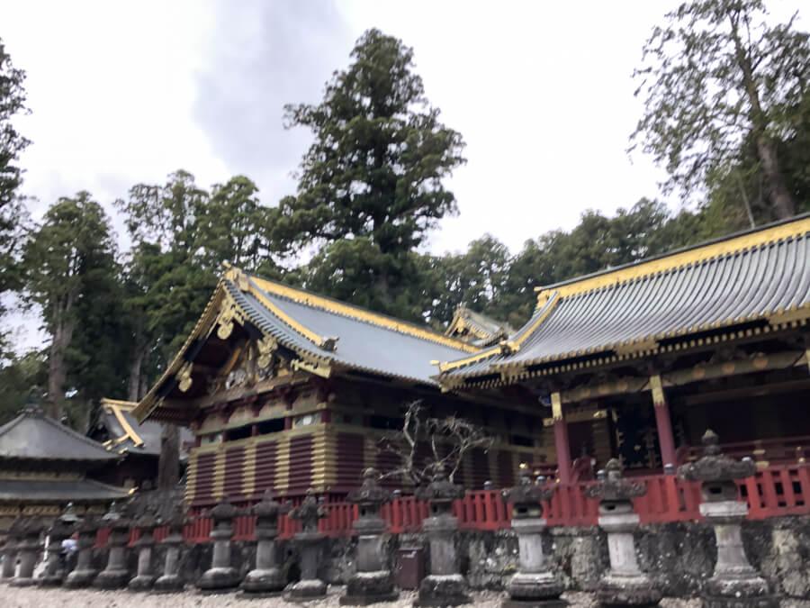 日光東照宮の上神庫
