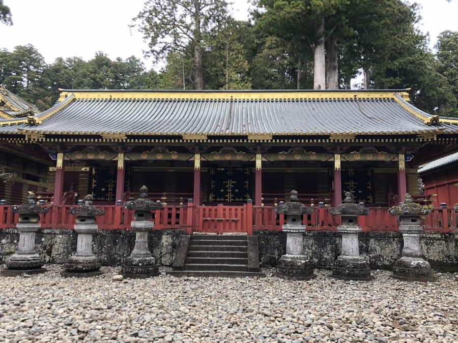 日光東照宮の中神庫