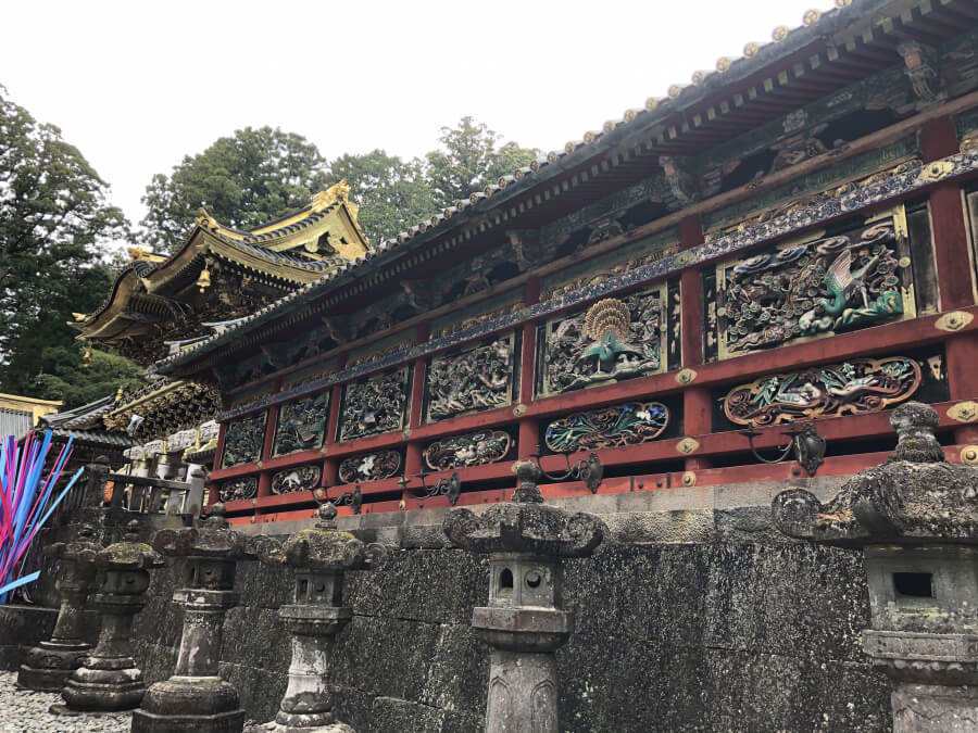 東西廻廊(日光東照宮)