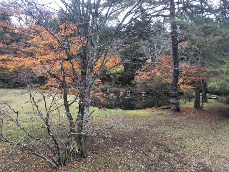 五角堂(松屋敷)からの眺め